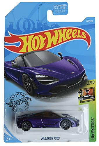 Hot Wheels Exotics Series 2/10 McLaren 720S 221/250, Purple