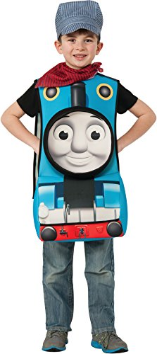 Rubies Thomas and Friends Deluxe 3D Thomas The Tank Engine Costume, Child Small (Engine Costume)
