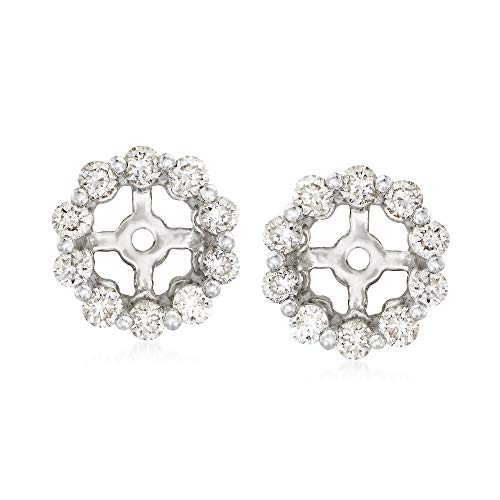 Ross-Simons 0.40 ct. t.w. Diamond Earring Jackets in 14kt White Gold