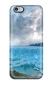 Rugged Skin Case Cover For Iphone 6 Plus- Eco-friendly Packaging(blue Glacier) 1660713K61546569