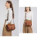 Crossbody Bags for Women,Small Saddle Purse and