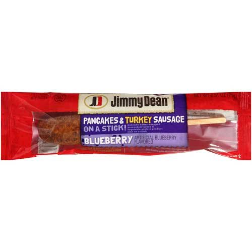 Jimmy Dean Pancake Batter Wrapped Precooked Turkey and Vegetable Protein Product Link On A Stick, 6.275 Pound -- 1 each. (Jimmy Dean Delights Turkey Sausage Breakfast Bowl)