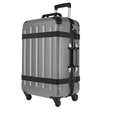 VinGardeValise Wine Travel Suitcase (12 Bottle) Newest Model (One Size, Silver) by Vin Garde Valise (Image #2)'