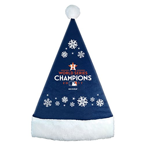 Houston Astros World Series Champions 2017 Santa (Chicago Cubs Santa Hat)
