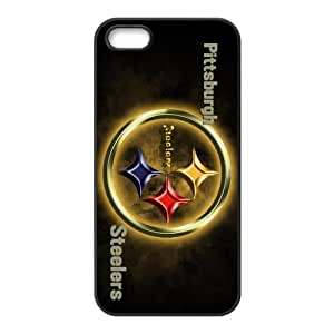 NFL Pittsburgh Steelers Team Logo High Quality Inspired Design TPU Protective cover For Iphone 5 5s iphone5-NY522