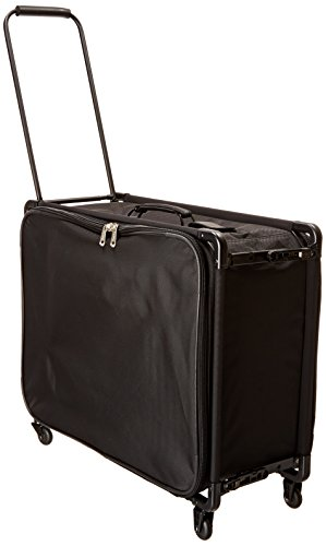 TUTTO 26 Inch Medium Pullman With Garment Bag, Black, One Size by Tutto