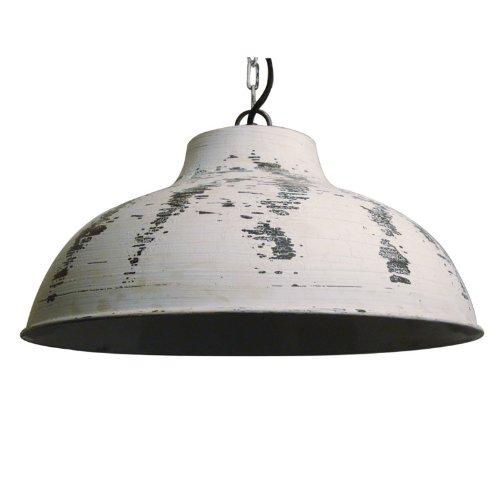 LightMakers BALDWYNN Hanging Lamp in Antique White, 16 x 14'
