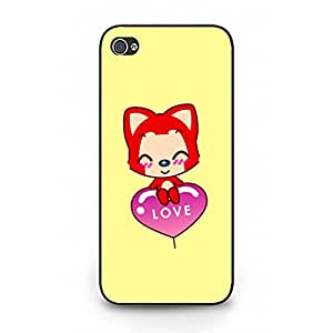 Special Design Phone Case Snap on Iphone 5/5s Cartoon Character Ali The Fox Phone Case Ali Fox Case