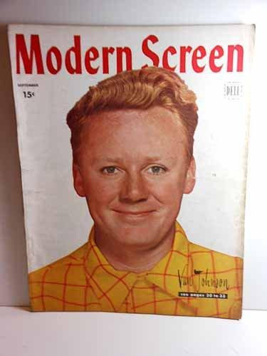 Modern Screen Magazine, September 1946, Van Johnson on Cover Articles: