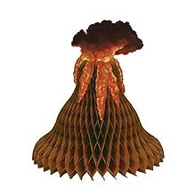 Beistle Tissue Volcano Centerpiece
