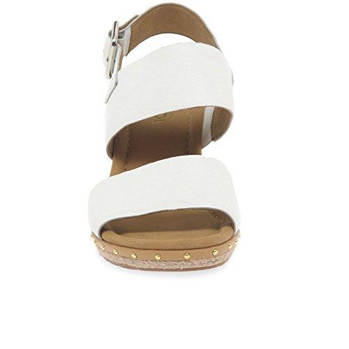 Sandali Gabor Caviglia Alla Sport Cinturino Comfort Donna Con Bianco  EHSpTxqnH 5217b8e3528