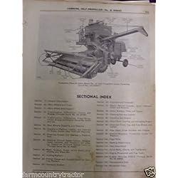 John Deere Combine 55 Self Propelled OEM Parts Man