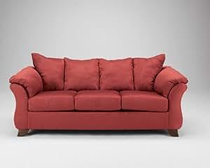 Durapella-Red Sofa by Ashley Furniture