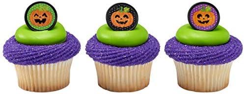 Jack O Lantern Cupcake Rings