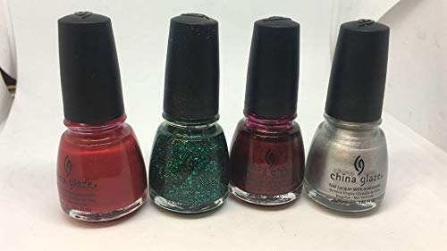 China Glaze Nail polish Holidays Color pack of 4 ()