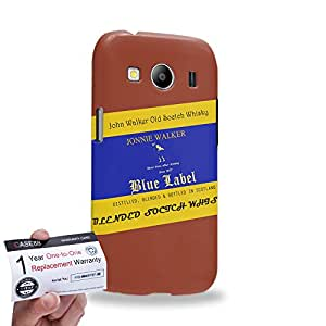 Case88 [Samsung Galaxy Ace 4 LTE G357] 3D impresa Carcasa/Funda dura para & Tarjeta de garantía - Art Fashion Design Whisky Never Drive After Drinking