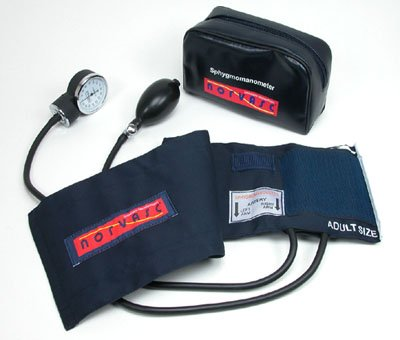 Thigh Blood Pressure - Manual Blood Pressure Cuff audlt thigh size , Aneroid Sphygmomanometer , FDA approved , Ultra large , Thigh Size