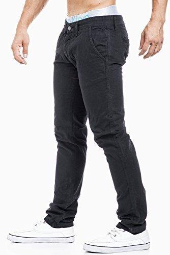 Balandi -  Pantaloni sportivi  - Chino - Uomo Nero  nero W29/L32