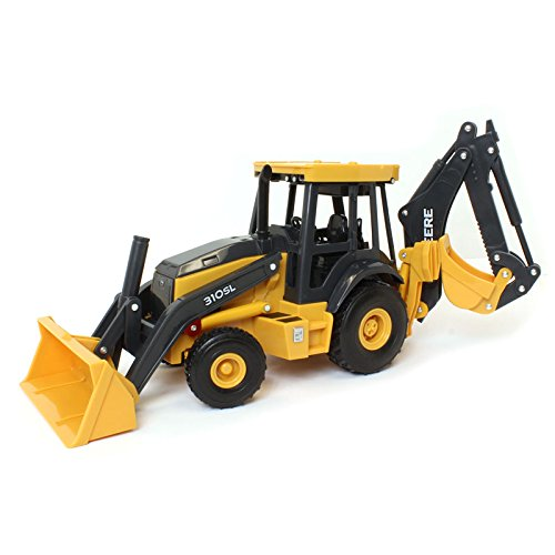 (John Deere 1/16 Big Farm Lights & Sounds JD 310SL Backhoe Loader)