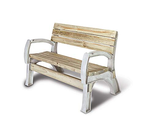Wood & Style Patio Outdoor Garden Premium Any Size Chair or Bench Ends, 2x4 Sand