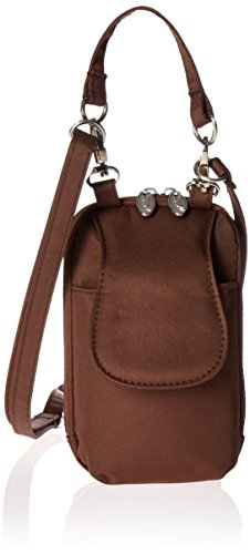 Charm 14 PursePlus Touch Cell Phone Purse - Retail Packaging - Chocolate