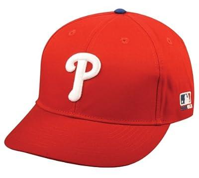 2013 Youth FLAT BRIM Philadelphia Phillies Home Red Hat Cap MLB Adjustable