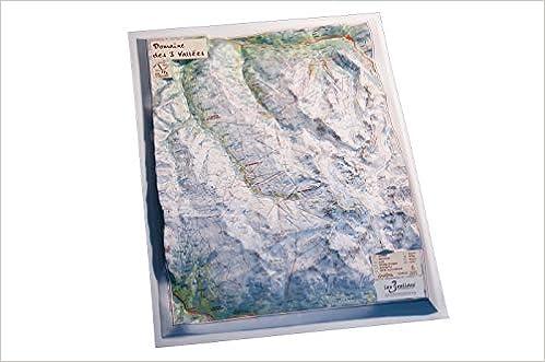 Mapa en relieve de Domaine de 3 Vallées: Escala gráfica: Amazon.es: All 3D Form, S.L.: Libros en idiomas extranjeros