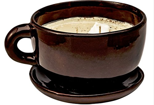 Swan Creek Coffee Mug Scented Candle Small 6oz (Roasted Espresso Scent)