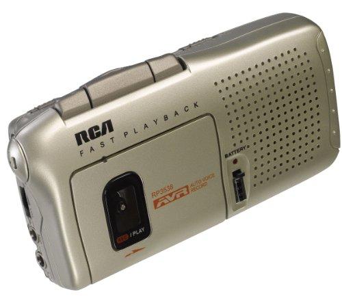 RCA RP3538R Micro Cassette Voice Recorder