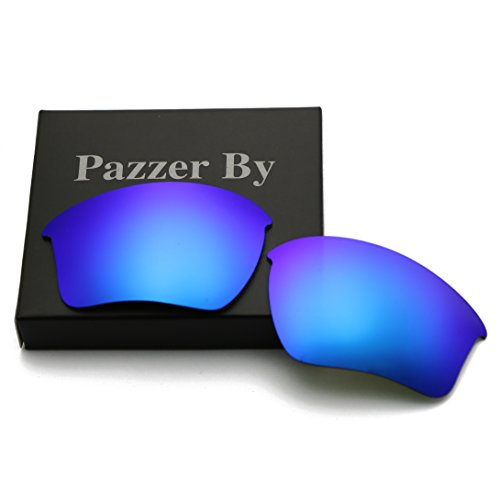 Polarized Replacement Lenses for Oakley Half Jacket 2.0 XL - Ice Blue Mirrored - Xl Jacket Half
