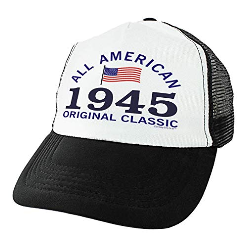 75th Birthday Gift - 1945 All American Classic Hat