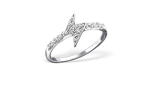Liara Polished Nickel Free Flower Plain Rings 925 Sterling Silver