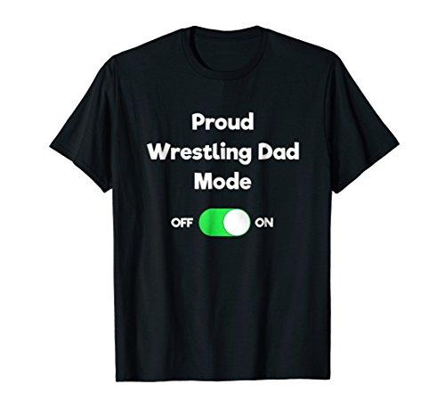 Wrestling Dad Shirt - Funny Proud Wrestler Dad ()