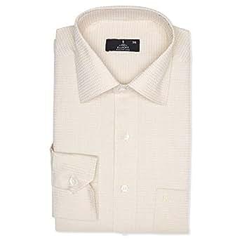 Elliott Beige Shirt Neck Shirts For Men