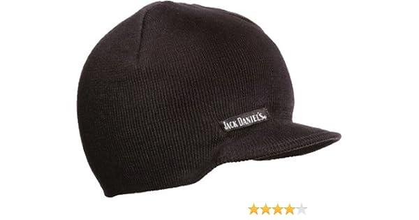 1f723d93325 Amazon.com  Jack Daniels Knit Winter Brim Beanie Hat  Clothing