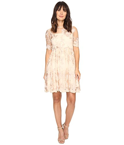Adrianna Papell Womens Length Embroidered