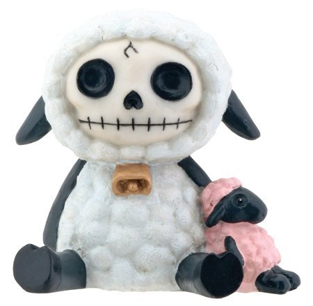 Sheep figurine! Furry Bones sheep skull sheep figure 2015 Zodiac ™ (Figurine Sheep 2015)