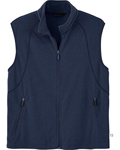 Ash City Mens Recycled Fleece Full-Zip Vest_Night_XXL Zip Sweater Vest