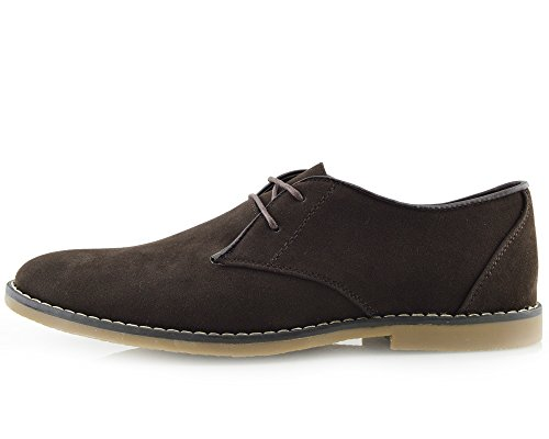 Herren-Casual Navy Smart Formal Lace Up-Herren Schuhe Braun