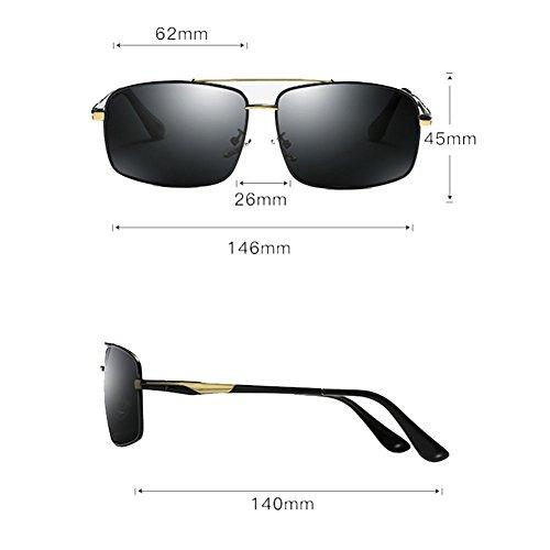 Driving 1 Polarizing 2 Sunglasses Gafas Driver Color Style Sol New Mirror de DT YP8WqU77