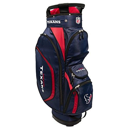 ワックスパシフィックミュートチームゴルフNFL Clubhouseゴルフカートバッグ – Houston Texans