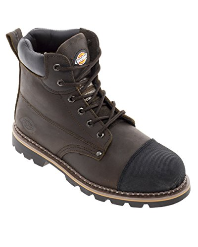 Dickies Crawford Boot. Goodyear. Fodera traspirante – FD9210 Brown