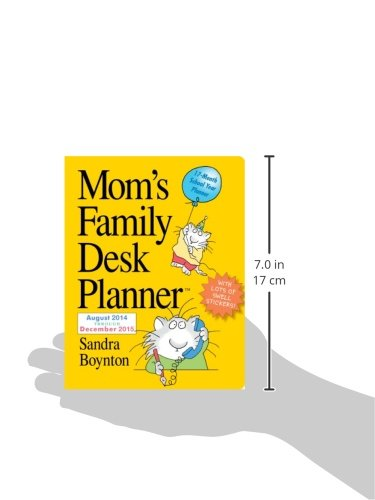 Mom S Family 2015 Desk Planner Sandra Boynton 9780761177814