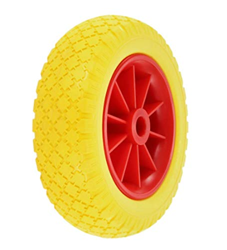 Kayak 1Pc 10 Inch Puncture-Proof Tire Wheel Canoe Trolley Cart Replacement Tire Transport Trailer Cart Removable Wheels