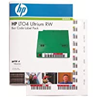 HP Q2009A Ultrium 4 RW Bar Code Label Pack - Bar code labels - for HPE MSL2024, MSL4048, 1/8 G2 Tape Autoloader, LTO-4 Ultrium, StoreEver Ultrium 1840