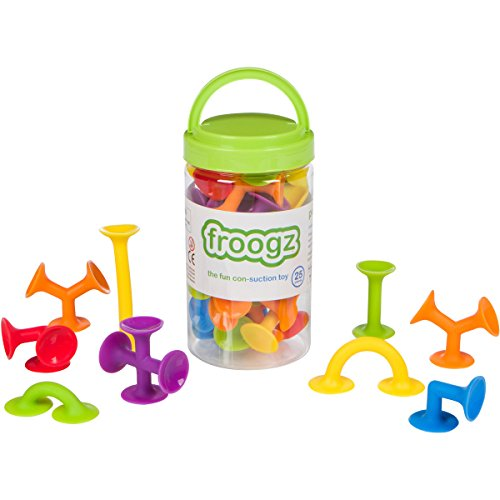 Froogz - 25 Piece Suction Toy Construction Set | Building Kit