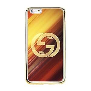 Fashion Creative GUCCI Logo Phone Case,Luxury Gucci Series Hard Premium Mobile Phone Case for Iphone 6 Plus/6s Plus (5.5 inch)