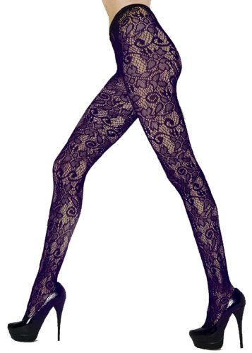 Floral Flower Tights - 6