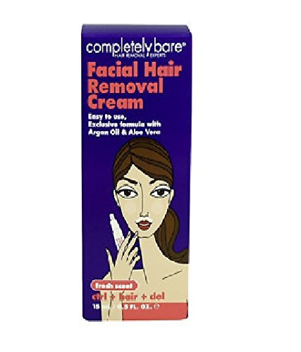 Facial Hair Removal Cream 0.50 oz By Completely Bare