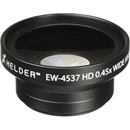 Helder EW-4537 37mm HD 0.45x Wide Angle Conversion Lens(3 Pack)